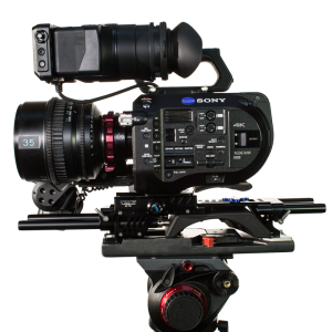 FS7 with sony