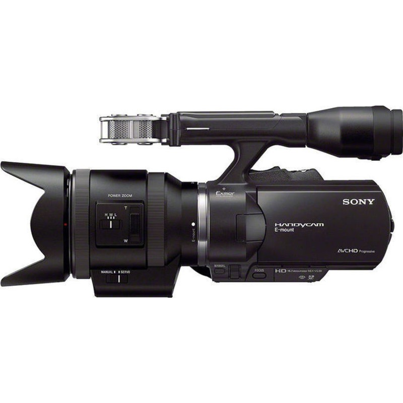 Sony NEX-VG30 with 18-200mm f/3.5-6.3 Power Zoom Lens ...